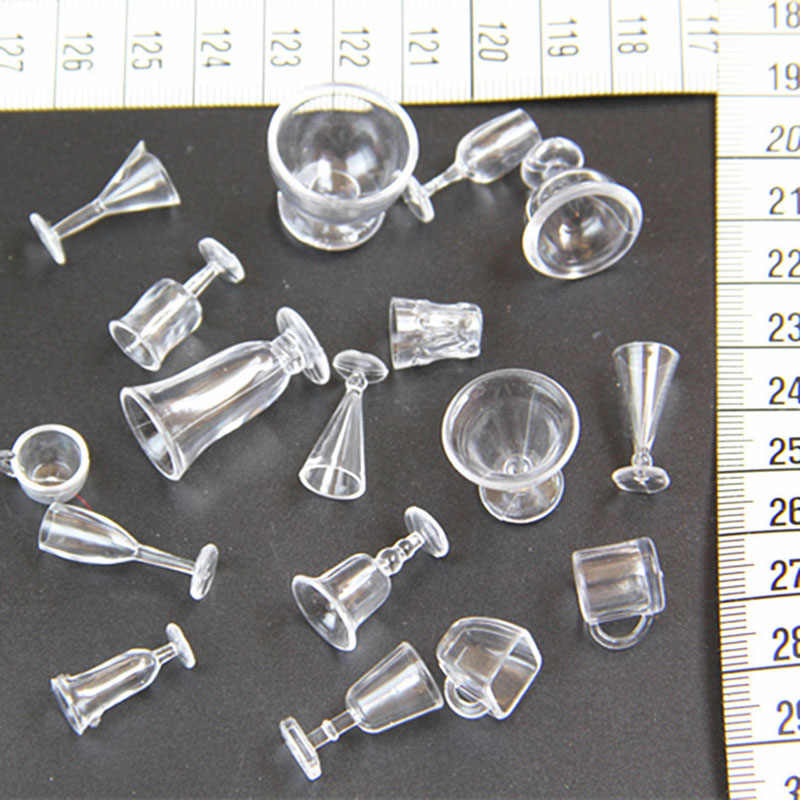 17 шт. 1/12 весы кукольный домик Миниатюрный стакан чашки набор модель ролевые игры мини кукла для еды аксессуары Подходит Игрушка TY0255