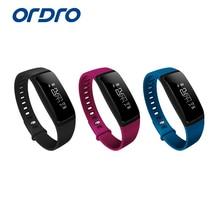 Ordro смарт-браслет S11 часы-пульсометр Bluetooth Шагомер фитнес-SmartBand напоминание