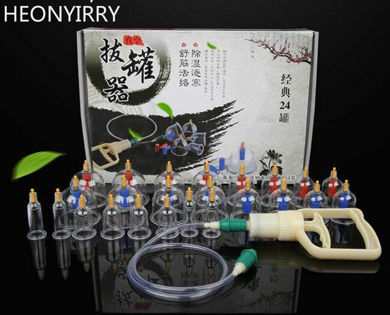 12 24 32 st. Massageburkar Kinesiska Cupping Therapy Cans Öppnare - Hudvårdsverktyg