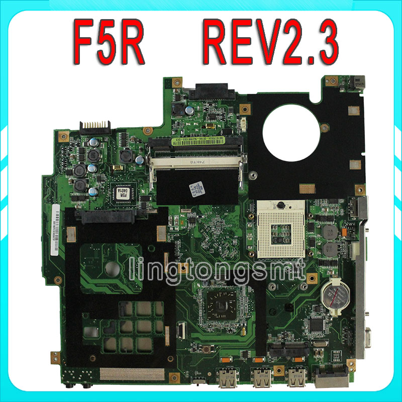 For Asus X50R F5R Laptop Motherboard REV REV2.3 replace F5SL F5N Motherboard fully tested 100% working free shipping 100% original laptop motherboard f81se for asus fully tested and working well