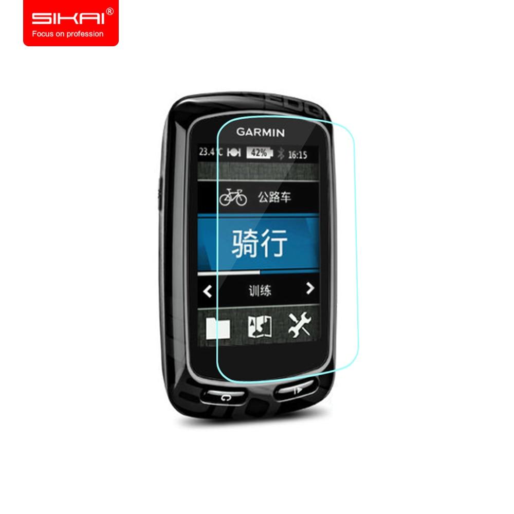 d8f49814a Sikai para garmin edge 520 510 810 820 1000 de cristal templado Protectores  de Pantalla Protector de pantalla 9 H Para El Borde Garmin GPS Ordenador de  ...