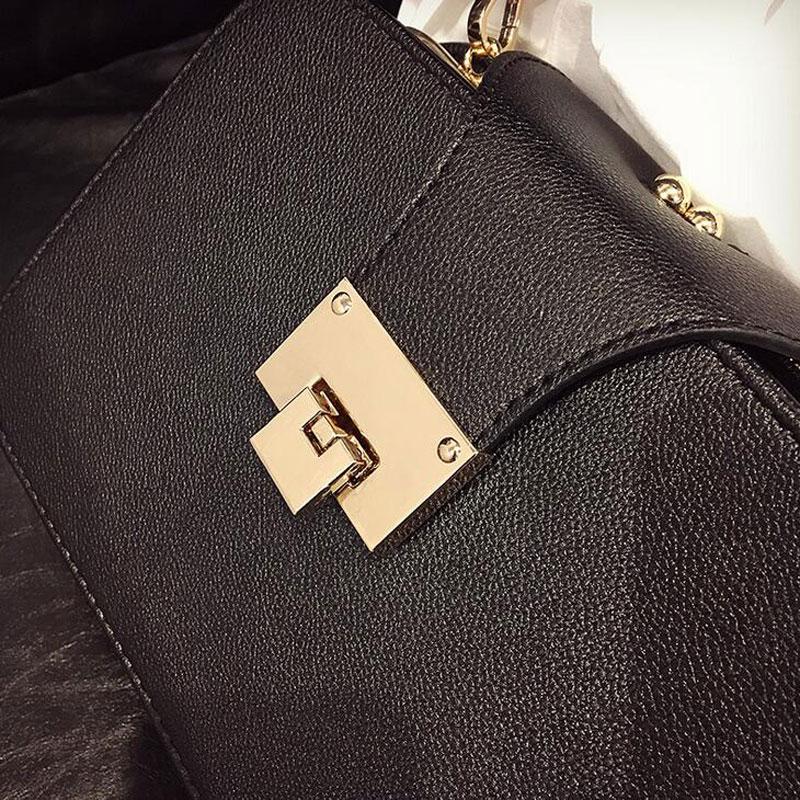 2020 Spring New Fashion Women Shoulder Bag Chain Strap Flap Designer Handbags Clutch Bag Ladies Messenger Bags With Metal Buckle