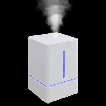 Purificateur D'air Vivant | VidaXL Humidificateur 5.5 L Avec Brume Et Lumière Tactile Arôme Diffuseur D'huile Essentielle Humidificateur à Ultrasons à Brume Fraîche Purificateur D'air