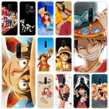 Hot One piece monkey d luffy Soft Silicone Fashion Transparent Case For OnePlus 7 Pro 5G 6 6T 5 5T 3 3T TPU Cover