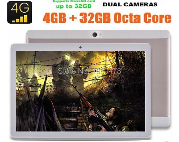 2017 New 10 inch 3G 4G Lte Tablet PC Android 6 0 Ocat Core 4GB RAM