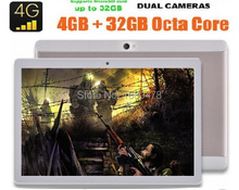 2017 Nueva 10 pulgadas 3G 4G Lte Tablet PC Android 6.0 Ptu Core 4 GB RAM 64 GB ROM Tarjeta Dual SIM IPS 1920*1200 tablet PC 10