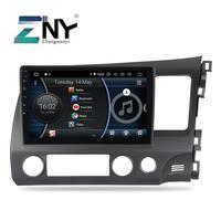 10.2 Android 9.0 Auto Radio For Honda Civic 2006 2007 2008 2009 2010 2011 Car Stereo FM Navigation Video Free Backup Camera