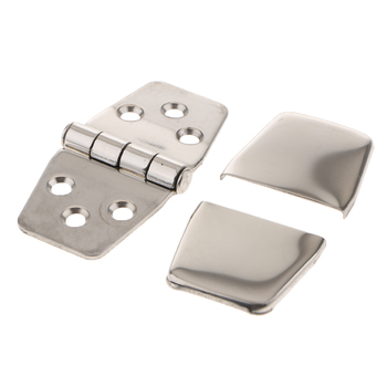 1pc Stainless Steel 316 Marine Hardware Casting Hinge Door For Cover Boat Hatch