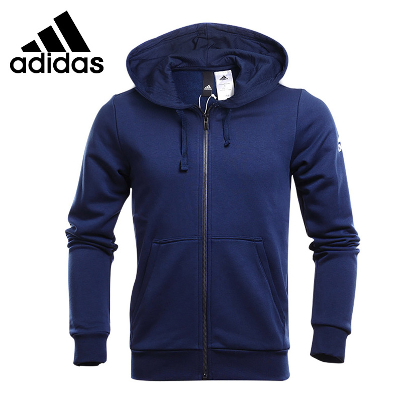 Original New Arrival 2018 Adidas ESS BASE FZ SLB Men's jacket Hooded Sportswear