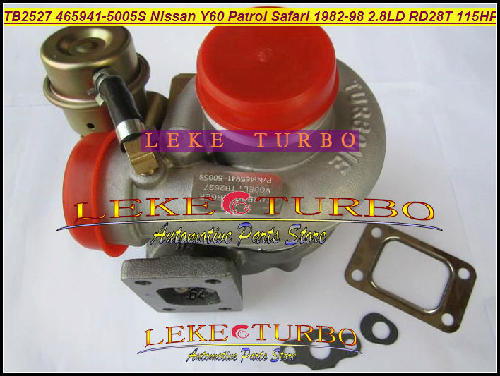 TB2527 465941 465941-5005S 452022-0001 452022 Turbo Turbocharger For NISSAN Y60 Patrol Safari 1982-98 Engine RD28T 2.8L D 115HP