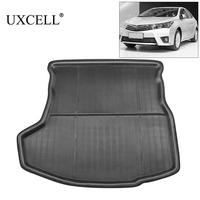 UXCELL PE + EVA espuma de plástico negro Anti sucio maletero forro Cargo Mat suelo bandeja cubierta almohadilla para Toyota Corolla 2014 a 2017|  -