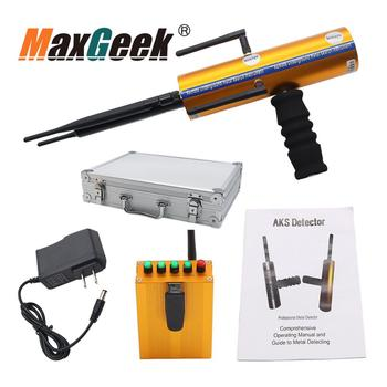 Maxgeek AKS with Six Antennas Handheld Type Long Range Hunt Metal Searcher High Sensitivity Gold Metal Detector Gems  Finder