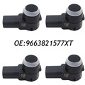 4PCS PDC Parking Sensor For Peugeot 307 308 407 RCZ Citroen C4 C5 C6 PSA9663821577 9663821577XT 9663821577