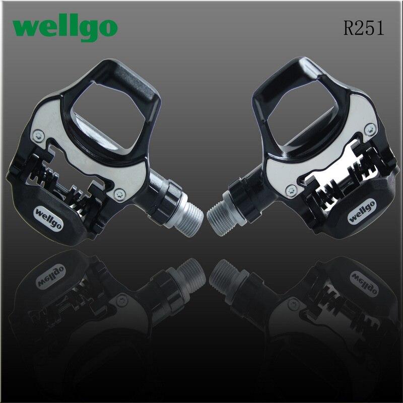100% Wellgo réel vtt pédales Xpedo R251 titane Axie scellé roulement pied plat chevilles pédales vélo Bicicleta Pedali vtt Biciclet