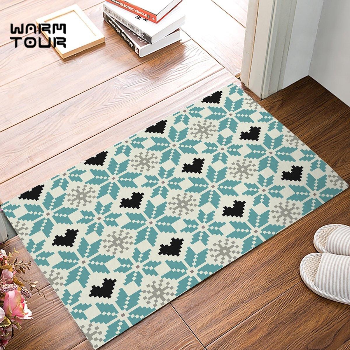 Vintage Bohemia Decorative Pattern Door Mats Kitchen Floor