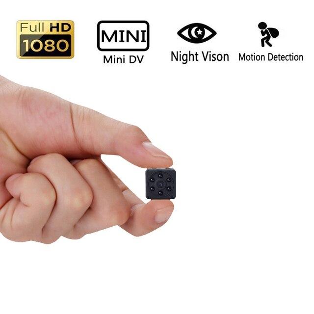 HD 1080 P Mini Câmera DVPortable HD Covert Cam com Visão Noturna e Detecção De Movimento Do Corpo, indoor/Outdoor de Segurança de Pequeno Porte Carmera