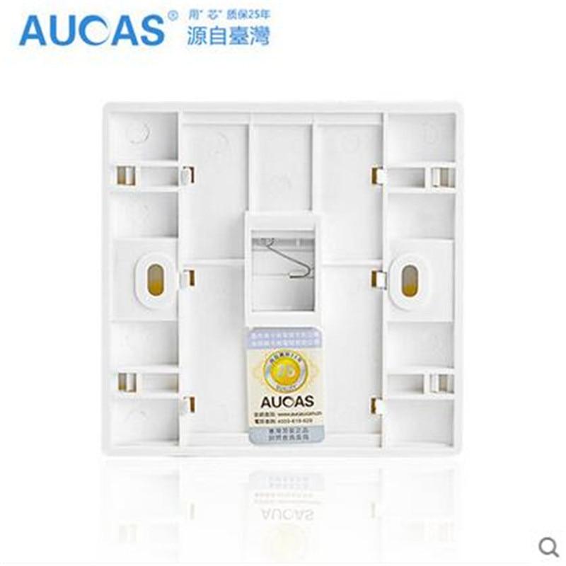 Aucas 4 հատ 1 Պորտ Դեմքի ափսեի - Համակարգչային մալուխներ և միակցիչներ - Լուսանկար 6