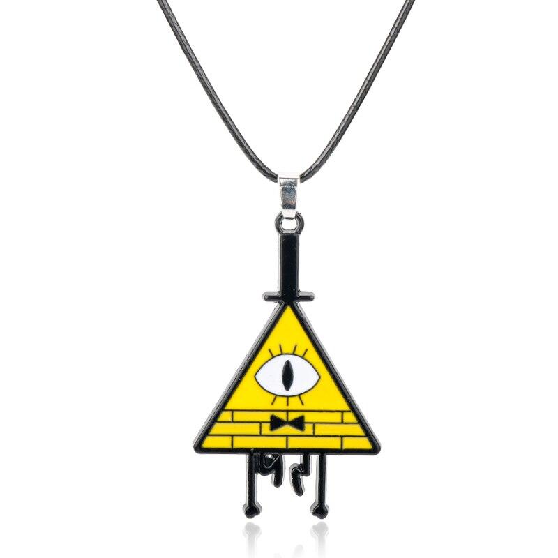 Ожерелье с подвеской dongsheng Bill Cipher Boss чокер косплей ожерелье для мужчин и женщин ювелирные изделия-30