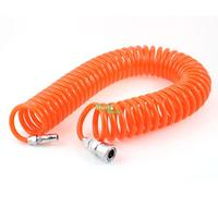 9M 29 5 Ft 8mm X 5mm Flexible PU Recoil Hose Tube For Compressor Air Tool