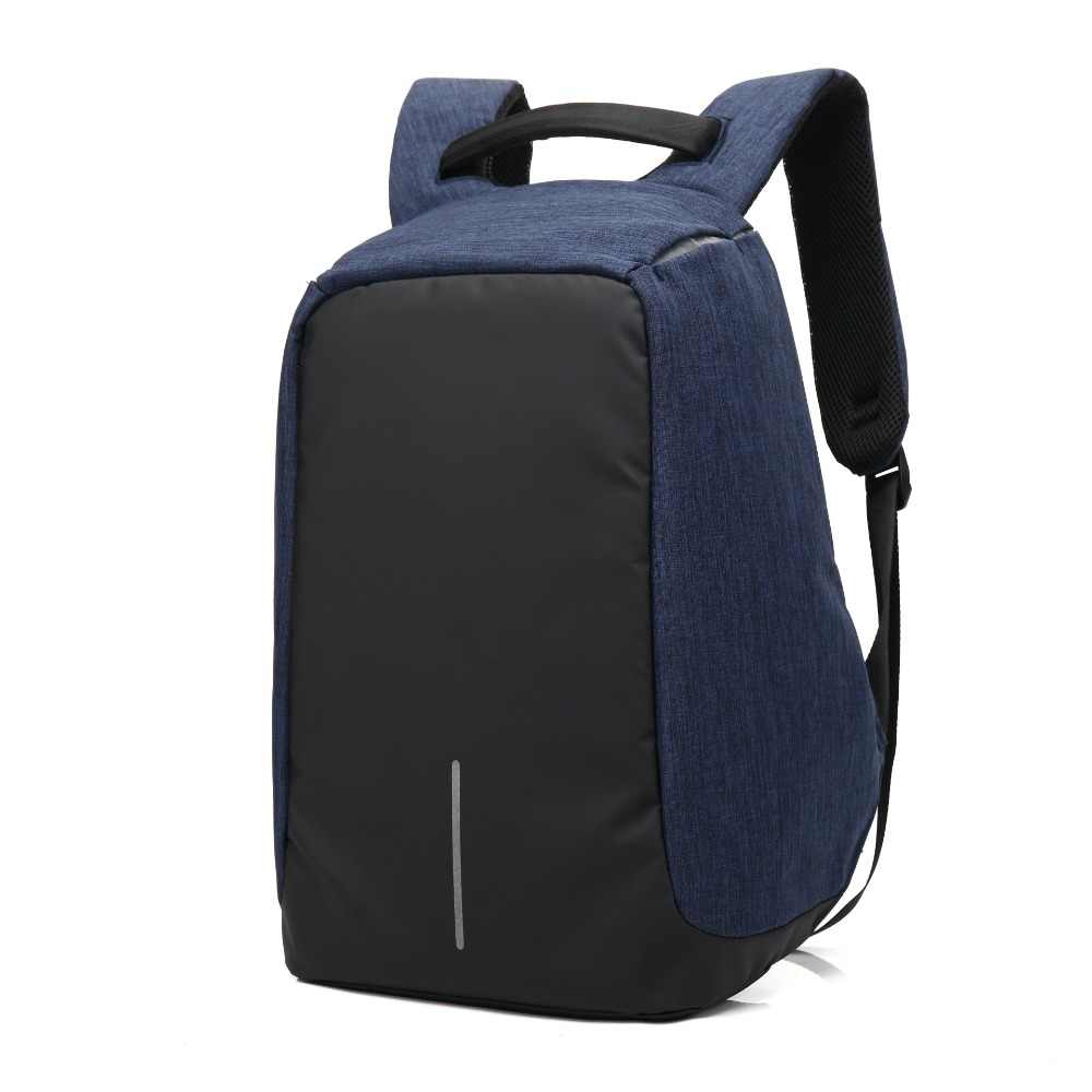 Men Business Travel Laptop Backpack With USB Charging Interface Male Leisure Casual Computer School Backpacks Student Daypack