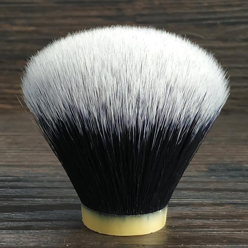 DSCOSMETIC 22mm /24mm /26mm/30mm Soft Tuxedo Synthetic Hair Shaving Brush Knots For Brush Handle