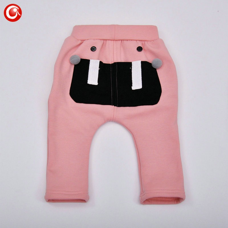 7-24M Baby Winter Tights For Boys Warm Plushed Kids PP Pants For Girls Infantil Bebes Thicken Trousers Clothes 2016  (19)