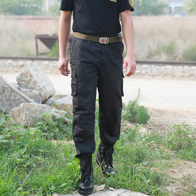 Pants Casual Pantalones Thin Working Pants Army Police Security Trouser Overalls