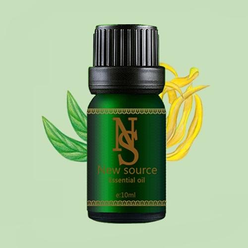 100% ylang ylang eterična ulja za održavanje stresa za rasterećenje dojke parfem ulje za njegu tijela aromaterapijska ulja spa 10ml Z53