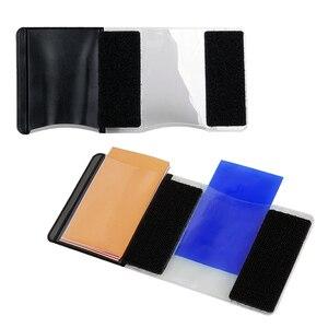 Image 3 - Gosear 12 PCS Transparent Color Gel Filter Light Film Sheet Filter Holder 12 Color for Studio Set top Box Flashlight 1.8 x 3inch