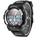 relogio masculino 2016 marca de lujo hombre militar deportes relojes montre hombre luxury cuir cuarzo hombres LED Digital reloj de la hora del análogo de reloj de pulsera relogio masculino