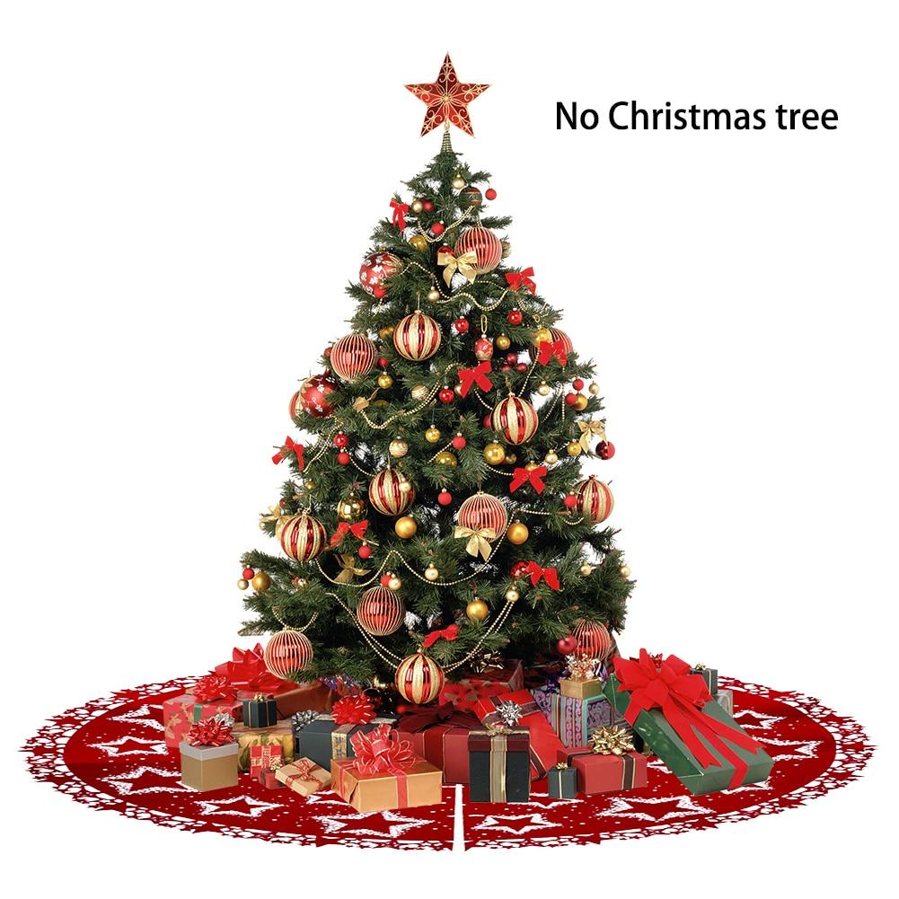Christmas Tree Skirt New Year Xmas Tree Carpet Merry Christmas ...