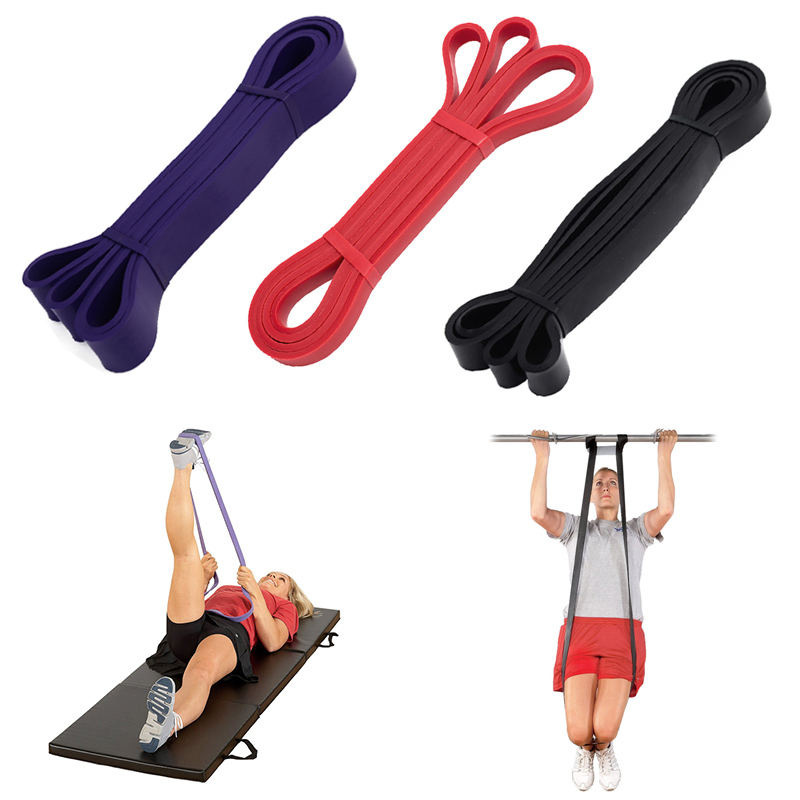 208CM Resistance Bands Latex Exercise Strength Training Pull Up Loops CrossFit For Gym Sports Yoga Fitness Equipment ED-shipping