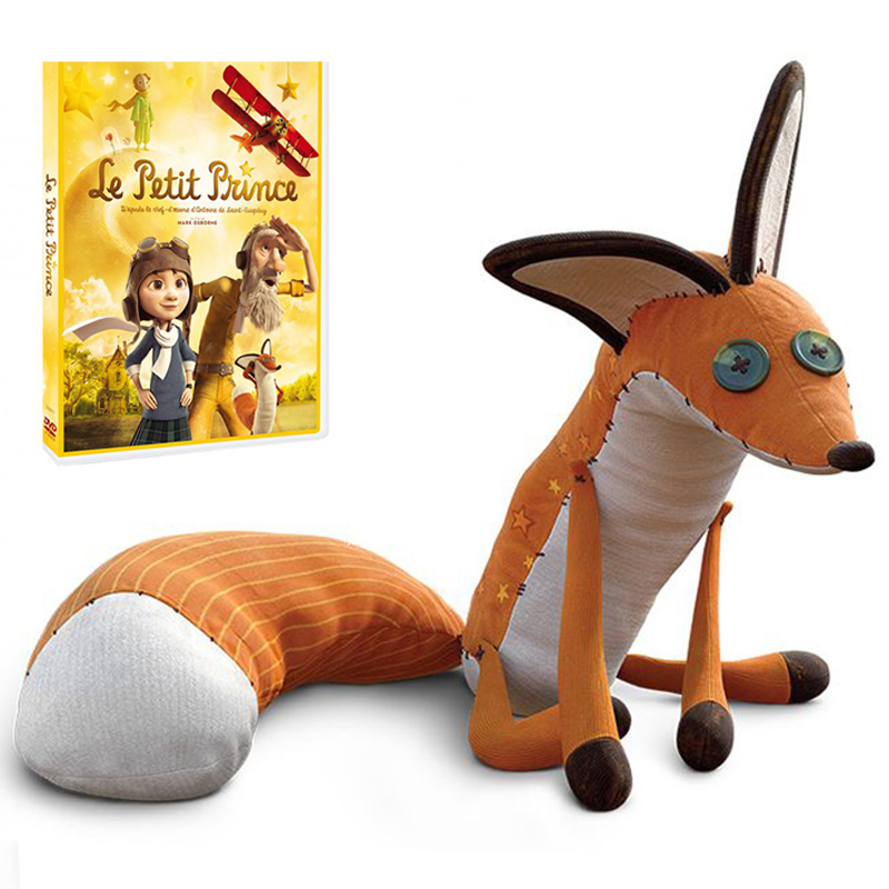 1pc 40cm & 60cm The Little Prince and the Fox Plush Toy Stuffed Animals Plush Education Toys for Baby the little prince and other stories