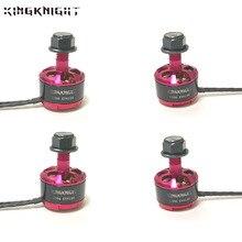 4pcs/set KingKnight 1306 Brushless Motor 3200KV 4100kv 1306 Motor Brushless Drone Motors CW for QAV130 150 180 Quadcopter