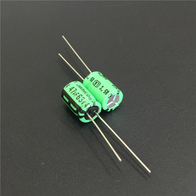 10pcs 47uF 63V JAMICON LK Series 8x11.5mm Low Leakage Current 63V47uF Aluminum Electrolytic Capacitor