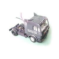 Dasmikro das87 das87e01 ho escala 1/87 chassi de caminhão de dois eixos rápido diy kit sem carroçaria|Carros RC| |  -