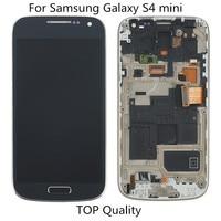 Pour SAMSUNG GALAXY S4 mini i9190 i9192 i9195 LCD Affichage Écran tactile Digitizer Assemblée de Remplacement avec cadre pour S4 mini LCD