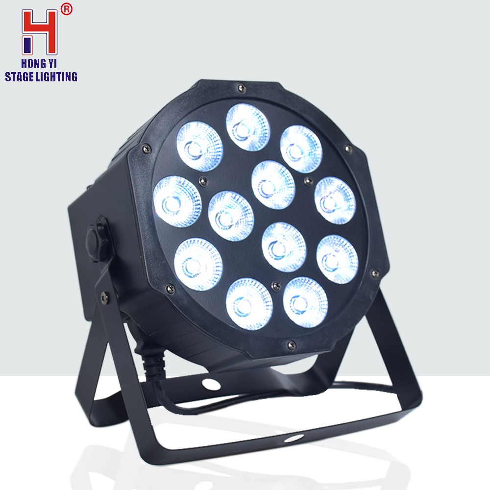 <font><b>Par</b></font> light <font><b>12x12W</b></font> RGBW 4in1 <font><b>led</b></font> strobe mini <font><b>par</b></font> light for dj image