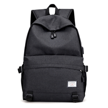 Fashion USB Travel Shoulder Book Bags Backpack for School Men Casual Rucksack Daypack Female Oxford Canvas Laptop Man Backpacks цена в Москве и Питере