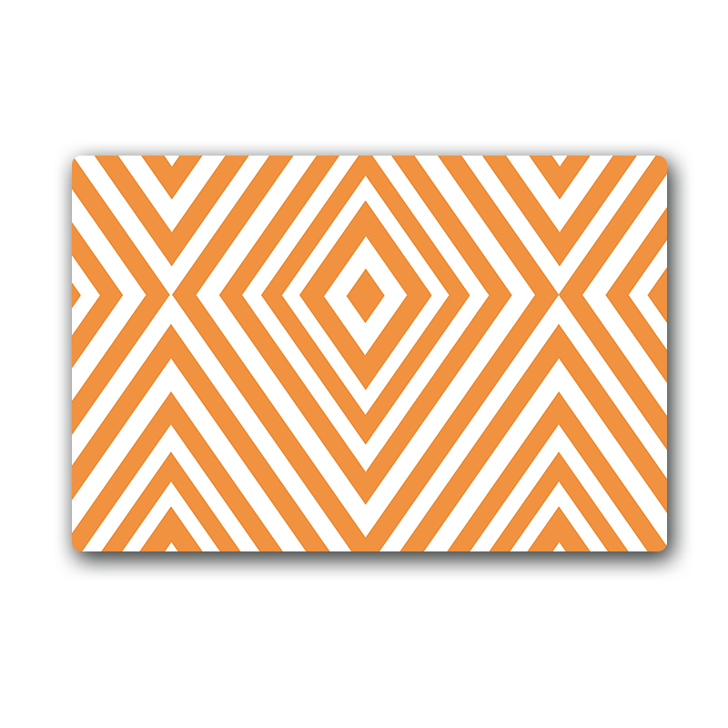 Chevron Kitchen Rug: Aliexpress.com : Buy Yellow Chevron Slip Resistant Kitchen