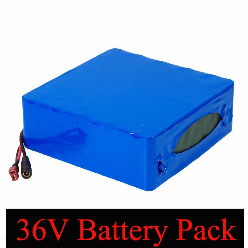 Liitokala 36V 30AH lithium battery 36v 30000mAh 18650 batteries pack for electric bicycle with 42v 30A BMS Protection-in Battery Packs from Consumer Electronics