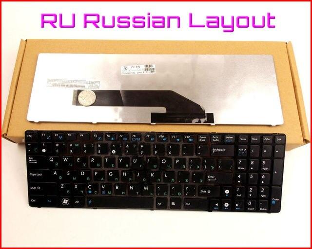 Nuevo teclado ru russian version para asus k50ae k50x k50id k50ie k50io k50il k50ip x66 x5ac portátil