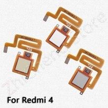 Back Home Button Fingerprint Sensor Flex Cable For Xiaomi Redmi Note 4 4x Global Pro Original