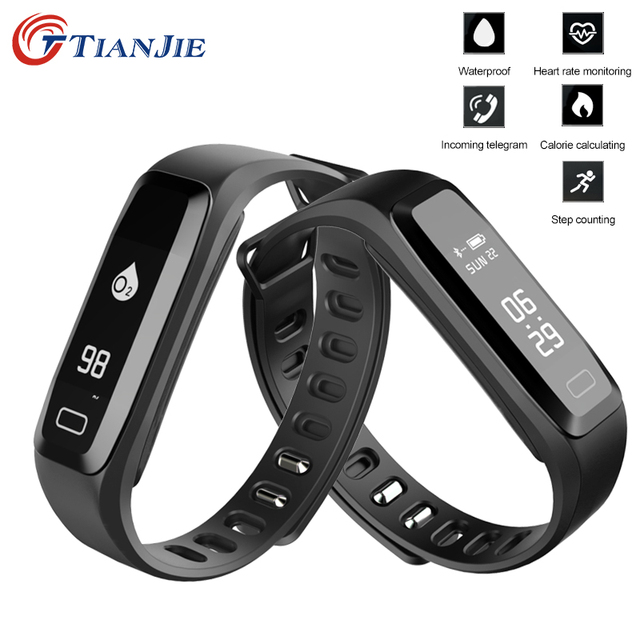 Heart Rate Monitor smart bracelet watches blood pressure
