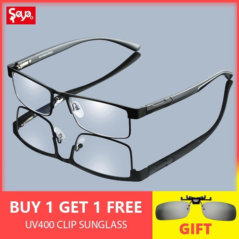 7d64bd8fc SAYLAYO Óculos Para Presbiopia Óculos De Leitura De Titânio Do Vintage  Portátil Lupa Visão Óculos Lentes de Prescrição Para Os Pais