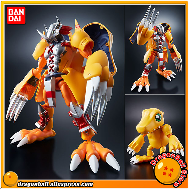 Japan Anime Digimon Adventure Original BANDAI Tamashii Nations Digivolving Spirits 01 Action Figure Wargreymon