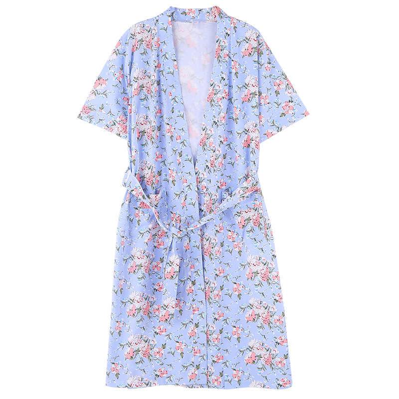 f45dd03adf4 ... New Ladies  Robe Shorts Bathrobe Thin Summer Home Clothing Women  Sleepwear Leisure Lounge Wear Lingerie