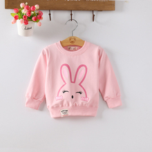 Sweatshirts Kids Hoodied Girls Clothes Todlers Infant Clothing Pullovers Baby Rabbit