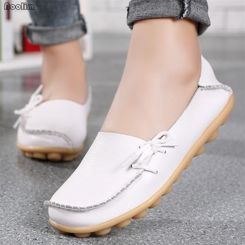 Женские туфли на плоской подошве из натуральной кожи, Мокасины, женские лоферы, мягкие Повседневные Удобные женские балетки, весенние тонкие туфли|Обувь без каблука|   | АлиЭкспресс