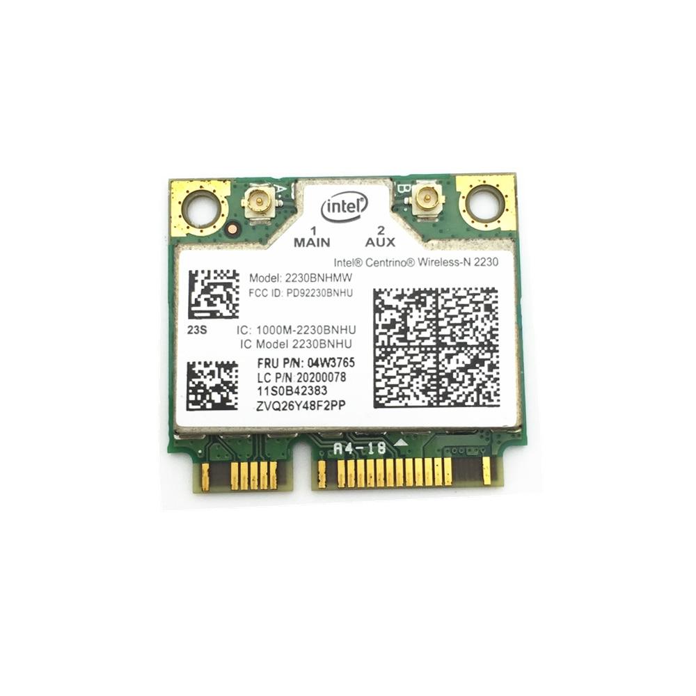 For Centrino Wireless-N Intel 2230 Wireless Bluetooth 4.0 Wifi N 300M Mini Pcie Card 04w3765 For Y400 Y500